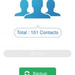 au iPhoneからガラケーへアドレス帳を移行する方法